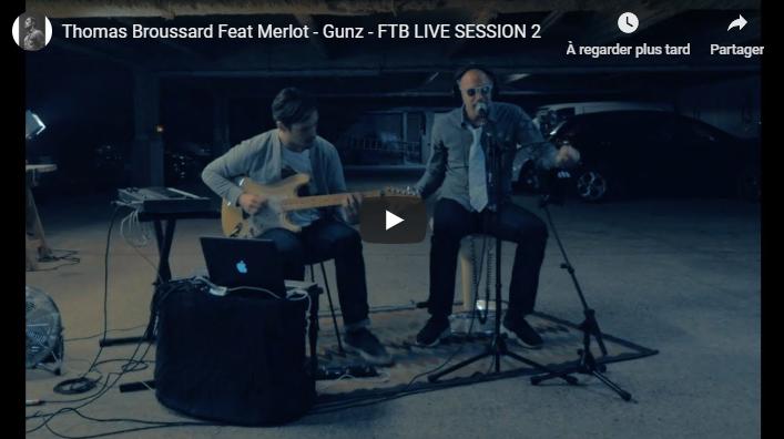 """Musique: Découvrez """"Gunz (Feat. Merlot)"""" la nouvelle vidéo de Thomas Broussard"""