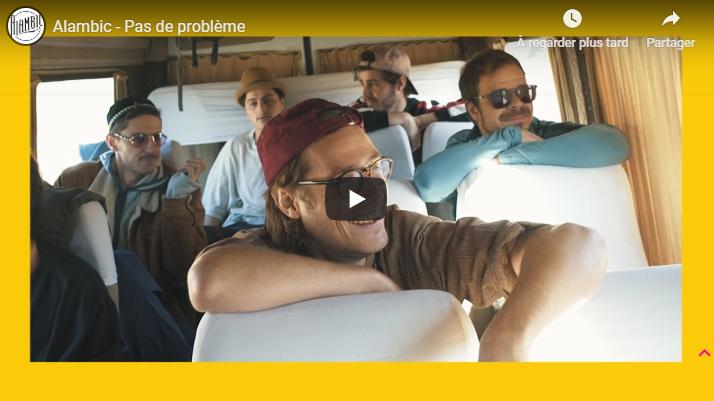 """Musique: Retrouvez""""Pas de Problème"""", le nouveau clip d'Alambic sur le site de Longueur d'Ondes"""